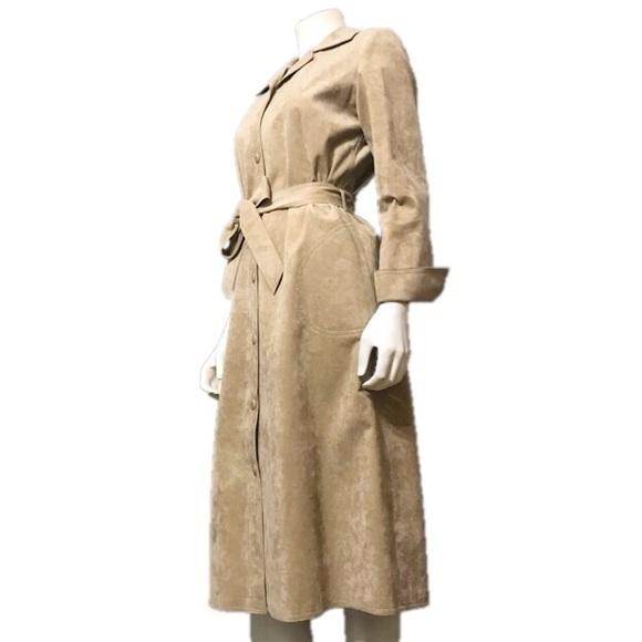 a2ed7c853fd Vintage Jackets & Coats   Gino Rossi Camel Trench Jacket Sz10   Poshmark